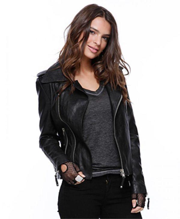 Leather jackets for women biker gear