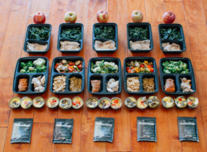 Meal prepping is a great way to eat healthy without spending a fortune or spending a lot of time in the kitchen
