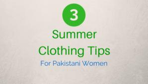 Summer Clothing Tips