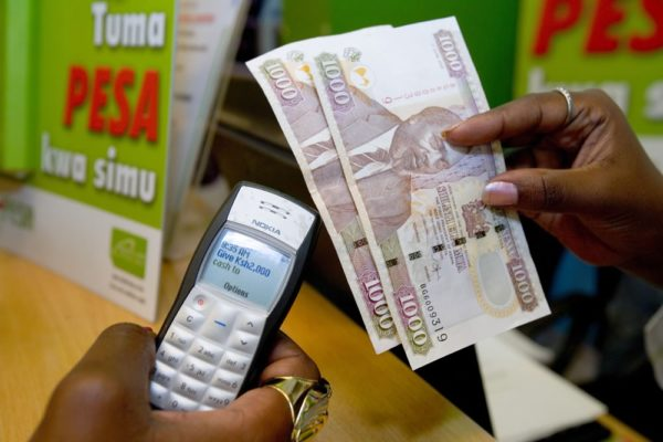 Kenya M-Pesa transaction