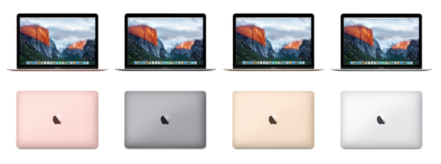 New Macbook In Rose Gold And With Improved Hardware Now