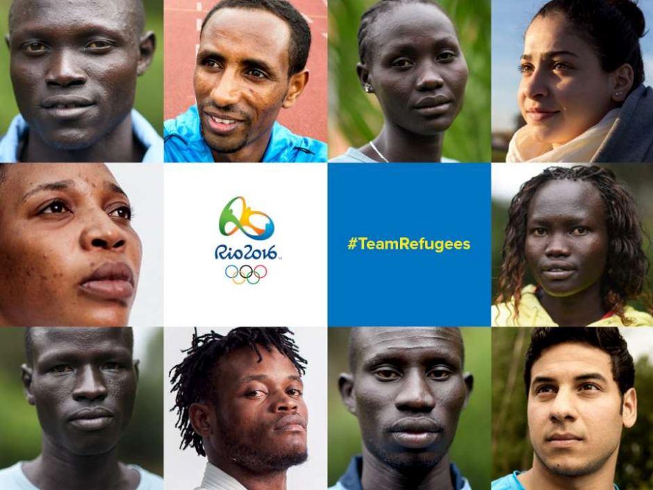 Olympics Refugee Team