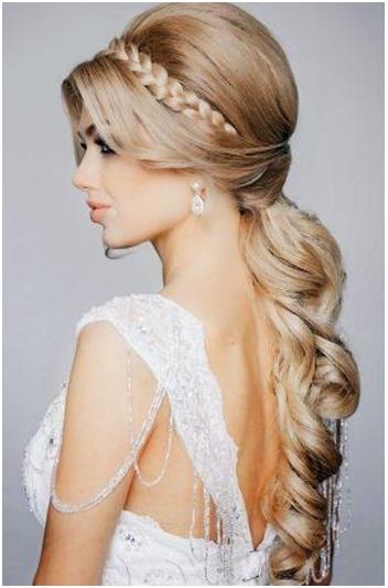 flowy princess hair