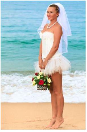 wedding Dress and Makeup