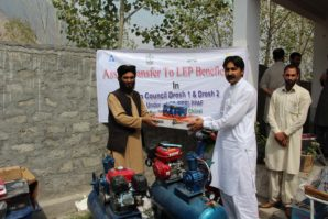 machinery, equipment free distributed among  62 skilled men under LEP program of Pakistan Poverty Alleviation Fund.