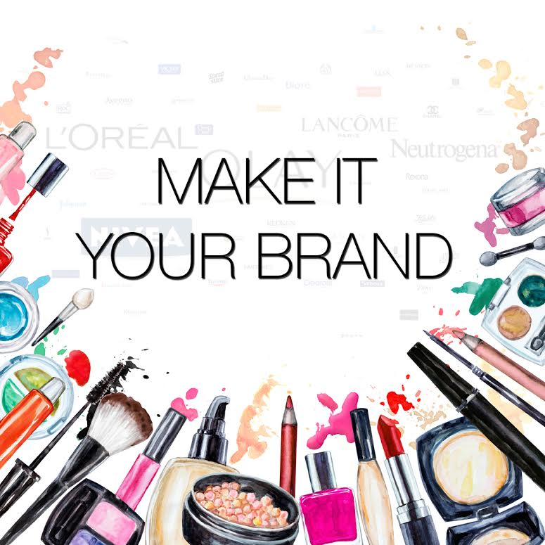 Imagine Your Name On A Line Of Prestigious Quality Makeup Young Businesswoman In New York City Reas For The Day As She Opens Foundation Compact With
