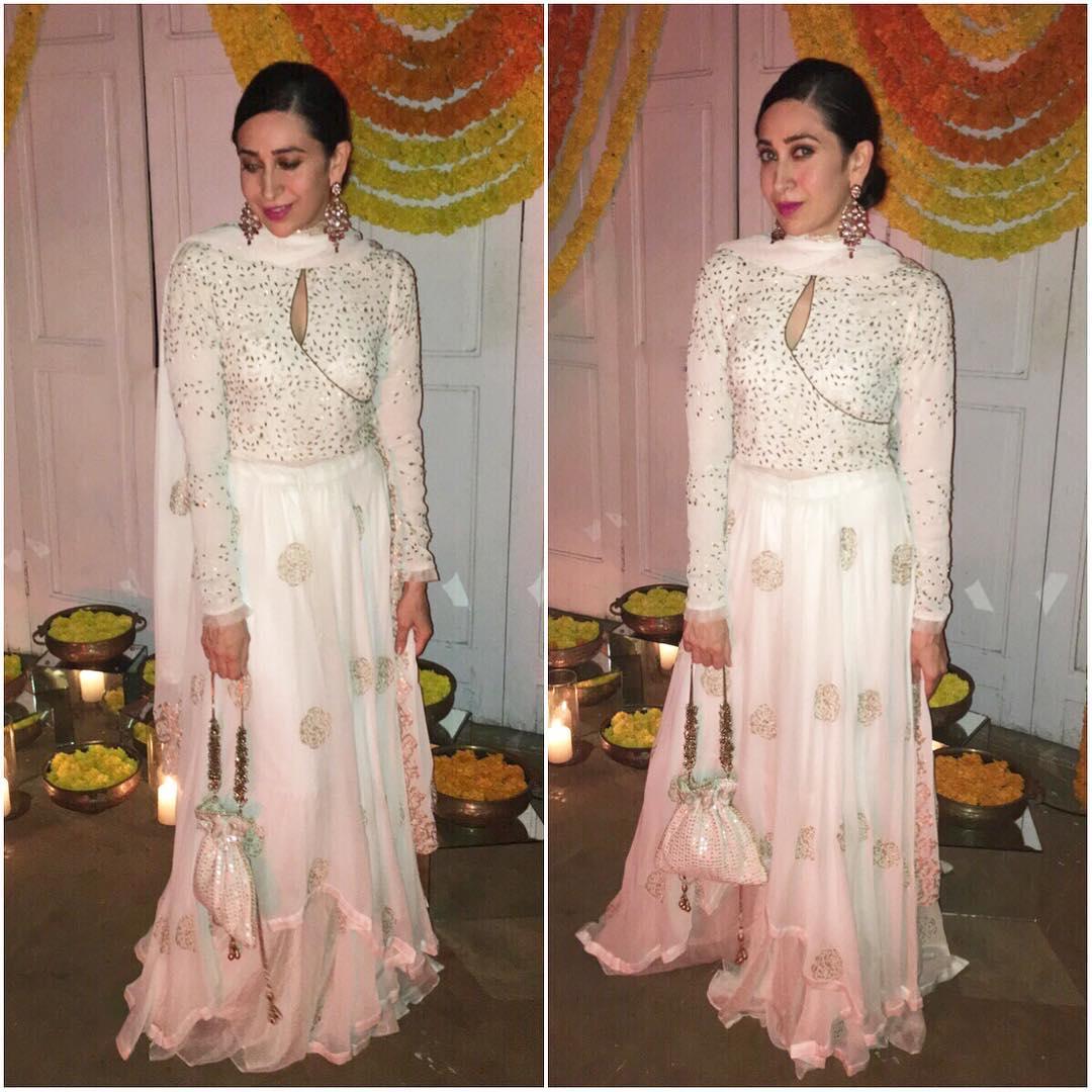 Karisma Kapoor in her Diwali Mode