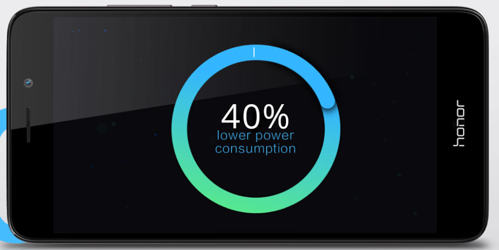 40% lower power consumption - huawei honor 5c