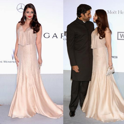 Stylish Bollywood Designer Gowns Worn By Indian Celebrities - Ground ...