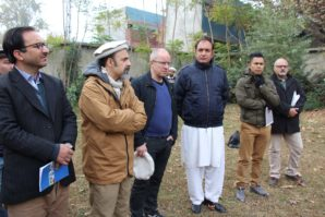 UNDP team and Norway first secretary visiting Chitral