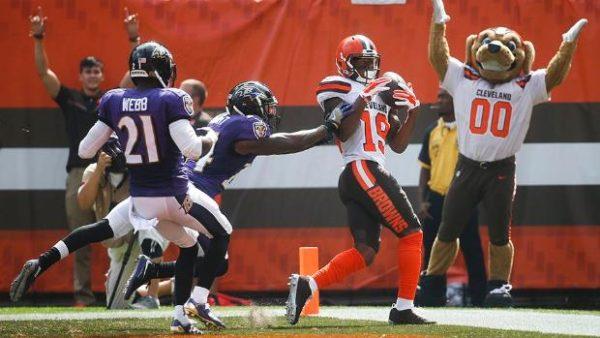 Browns vs. Ravens