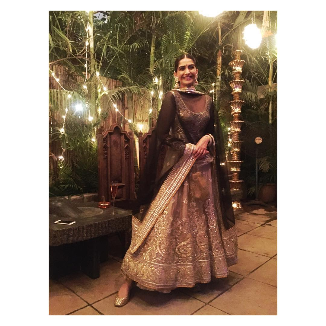 Sonam Kapoor and all the Bling