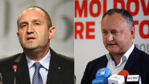 New presidents Bulgaria and Moldova