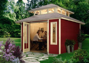 pub shed for two