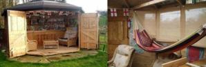 hammock pub shed