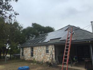 San Antonio Solar Installation