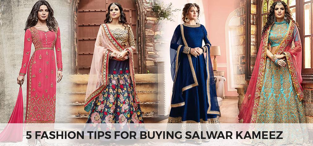 fashion Tips for buying salwar kameez online - like a diva
