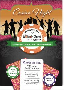 The Dr. Yum Project Offers Casino Night to Help Kids Learn Healthy Eating