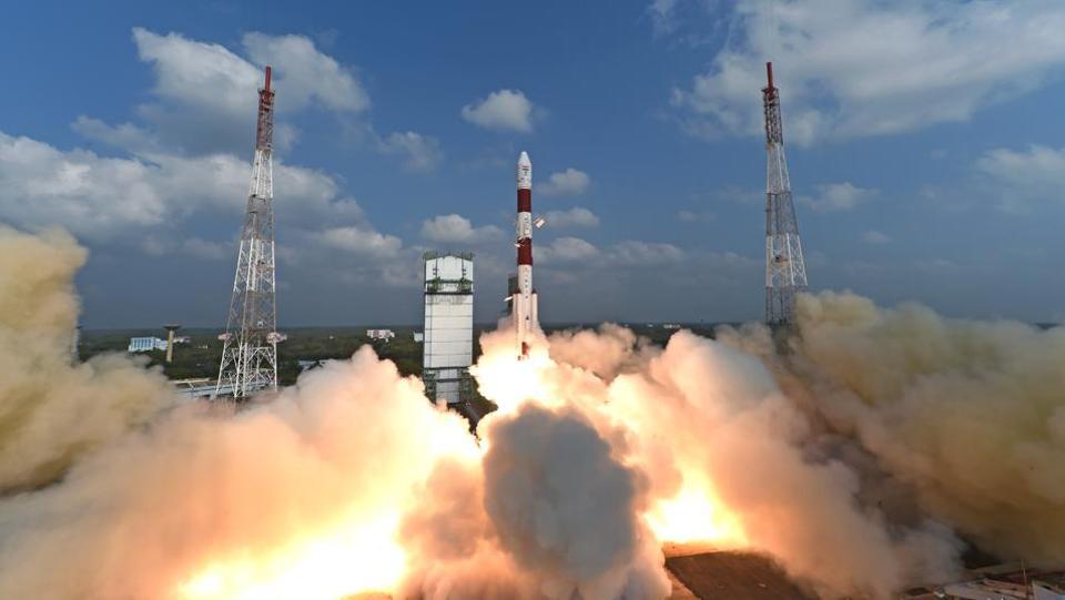 Rocket Launch by ISRO