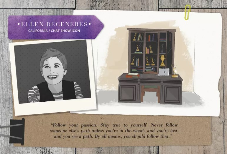 Home office tips from Ellen