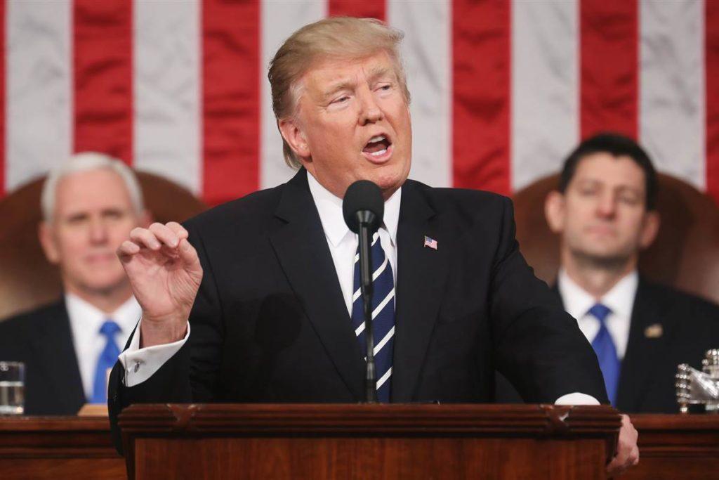 Trump at the Congress. Courtesy: nbcnews