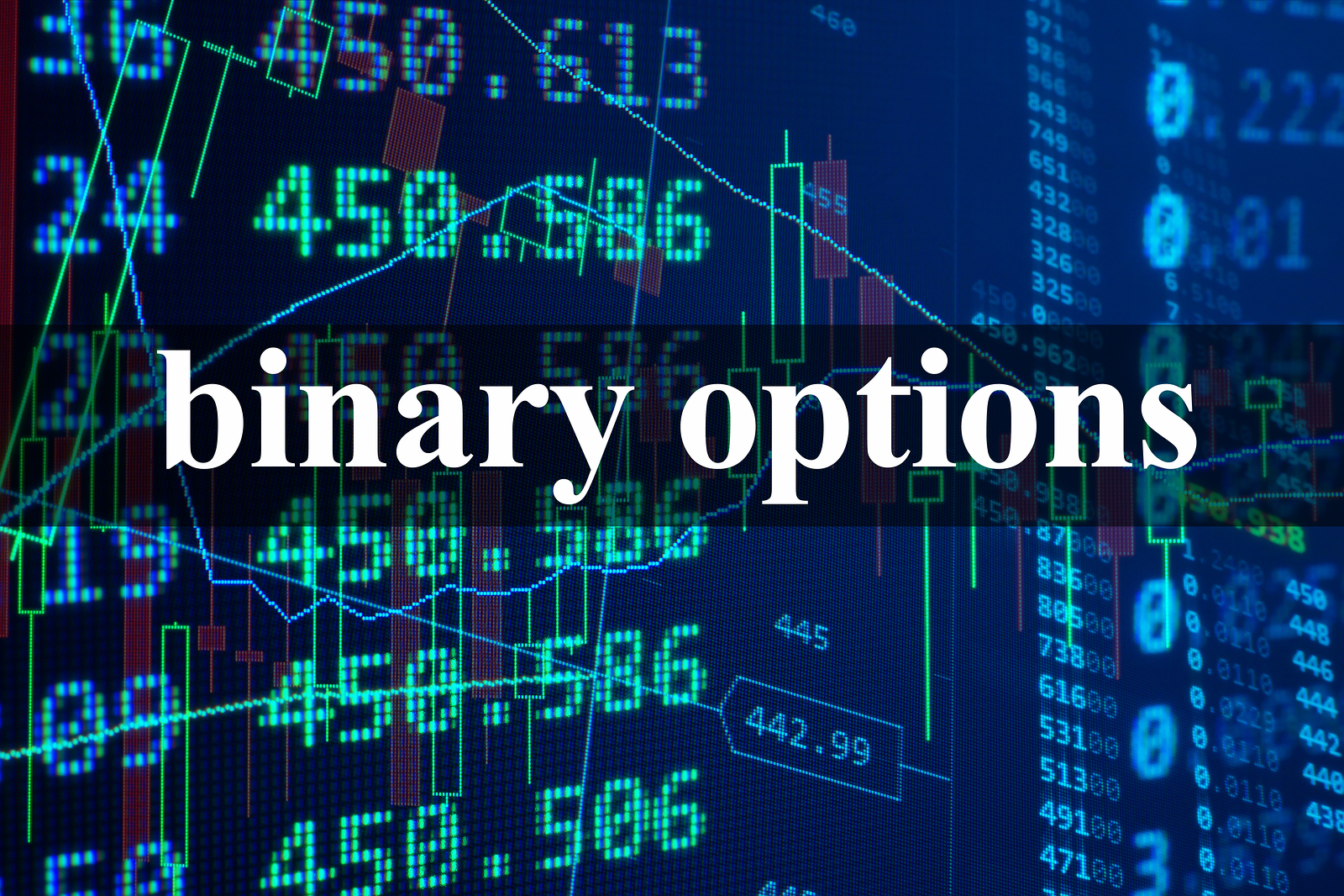 Binary option weekly report