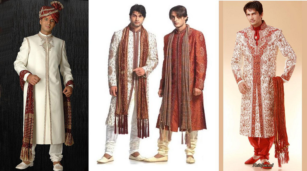 Latest Styles In Wedding Sherwani For The Fashionable
