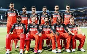 Royal Challengers Bangalore Team 2017