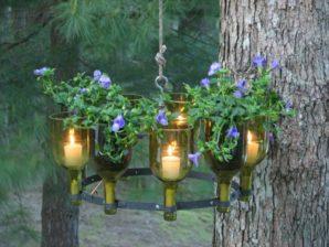 10 Amazing Ideas For Using Wine Bottles In The Garden