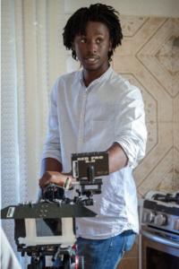 Nigerian born Cinematographer lensing Hollywood