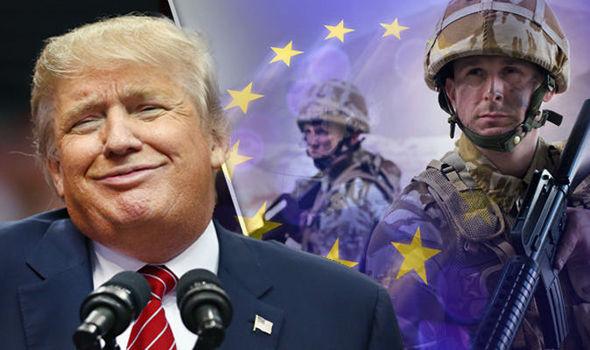 trump nato army