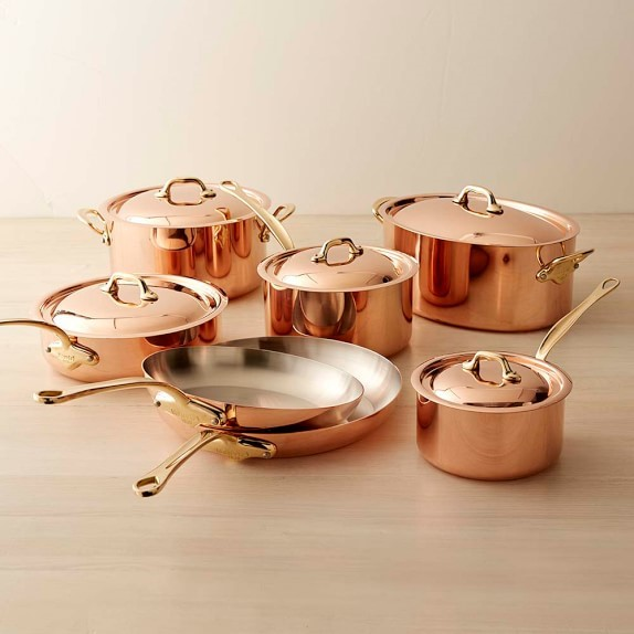 If You Live For Aesthetics Simply Can T Deny The Look And Feel Of Gl Top Stoves Copper Cookware With These Two Beautiful Kitchen Tools Combined