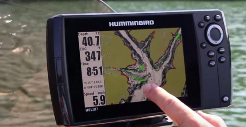 how to read your fish finder