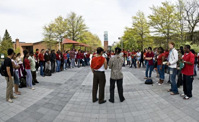 Binghamton University Students Protest Police Brutality In ...