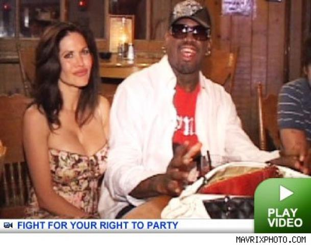 gina peterson was beaten by dennis rodman say police
