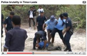 Timor Police Brutality Video