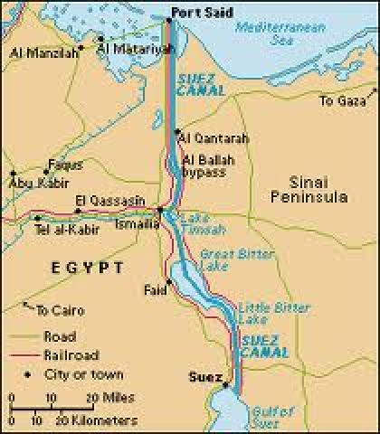 Egypts second suez canal crisis ground report egypt matters for one reason the suez canal the suez canal carries 10 of world trade and 45 of world oil production shut down the canal and the world gumiabroncs Image collections