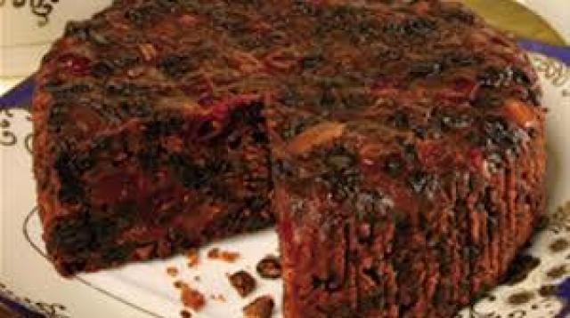 Christmas Fruit Cake Recipe With Brandy.Decedent Christmas Fruit Cake With Brandy Sauce Ground Report