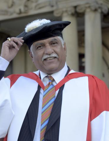 Newcastle University awards Honorary Degrees to Sunil Bharti
