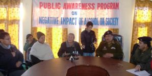 "Leh Police organizes awareness camp on"" Negative Impact of Alcohol on Society"""