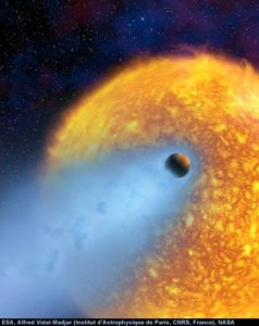 One Step Closer to ET Life – Water Vapour Atmosphere Detected in Pegasus